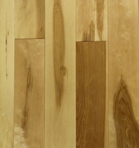 Solid Chinese Maple Natural Character Detail
