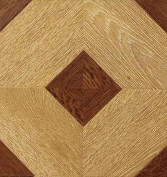 Antique Checkered Brown Toscano Floor Designs Llc