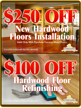 Toscano Floor Designs LLC special discount